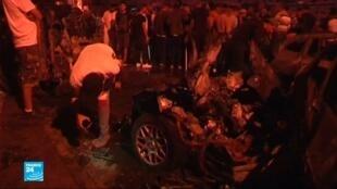 انفجار سيارة مفخخة وسط بنغازي