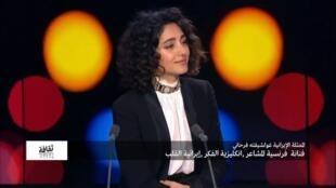 غولشيفته فرحاني: فنانة فرنسية المشاعر، انكليزية الفكر، إيرانية القلب