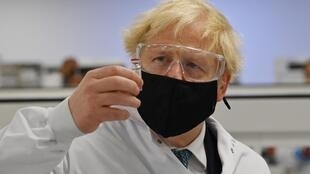 British PM Boris Johnson visited Scotland where he toured Covid-19 vaccine facilities.