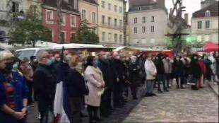 2020-10-21 18:02 Assassinat de Samuel Paty : de nombreux hommages partout en France
