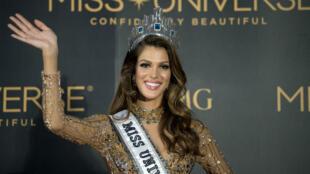 La Française, Iris Mittenaere, a été élue nouvelle Miss Univers pour un an, le 30 janvier 2017.