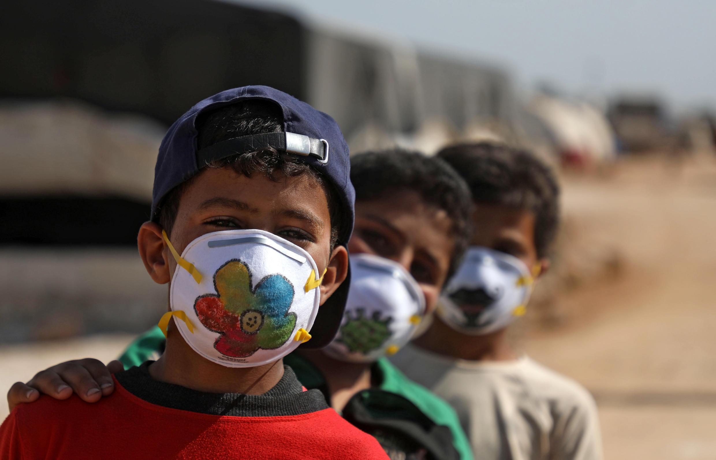Archivo: muchos niños sirios viven de forma precaria en campos de refugiados