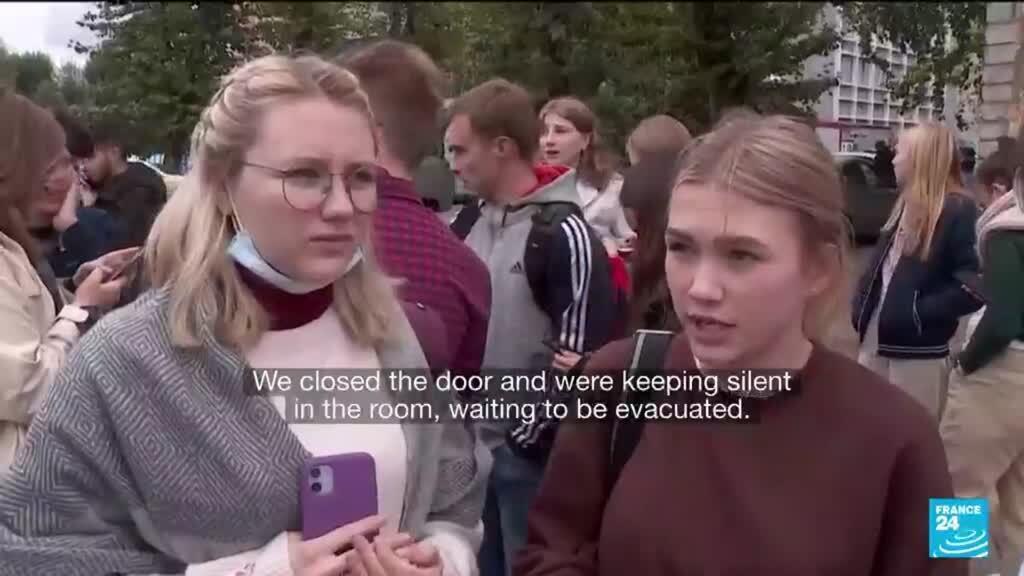 2021-09-20 18:20 Shock at Russia university campus as gunman kills six