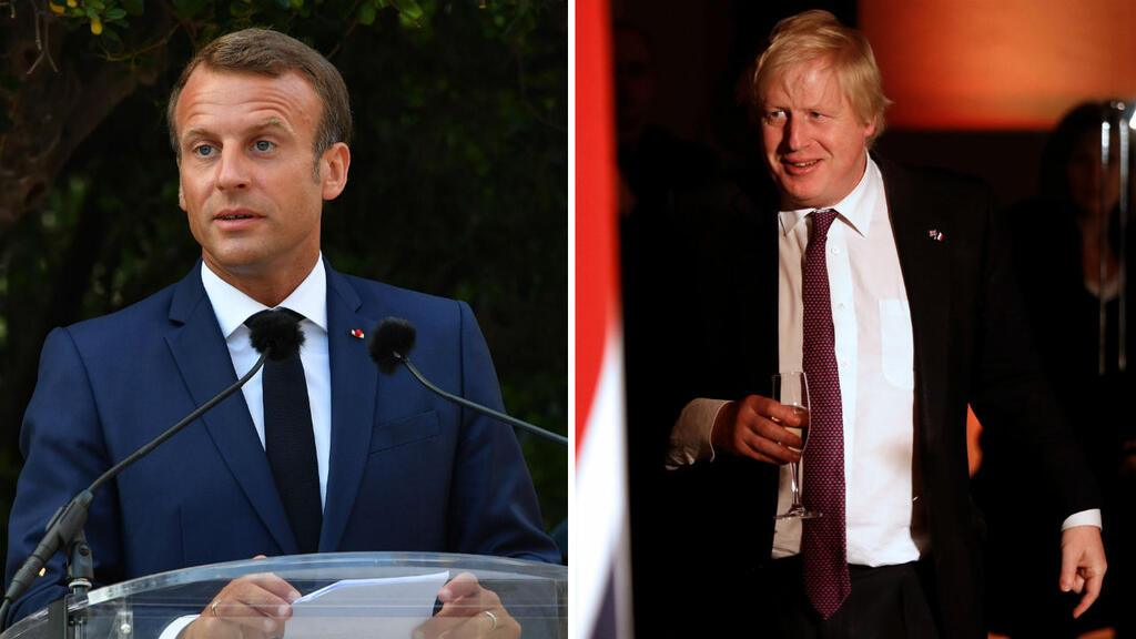 Johnson and Macron to hold Brexit talks in Paris