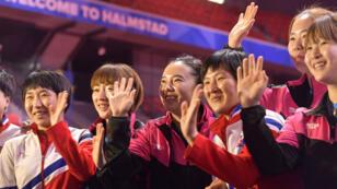 Corée du Nord et du Sud joueront ensemble les demi-finales des mondiaux de tennis de table.