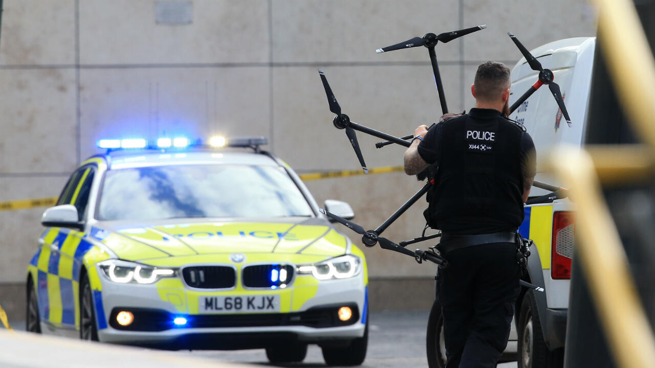 Selon la police britannique, le chauffeur du camion, un nord-irlandais de 25 ans, a été arrêté pour meurtre, le 23 octobre 2019. Photo d'illustration.