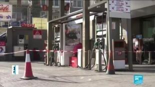 2019-11-28 15:35 Lebanese petrol stations begin open-ended strike