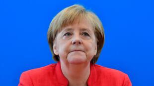 La canciller alemana, Angela Merkel, el 18 de junio de 2018.