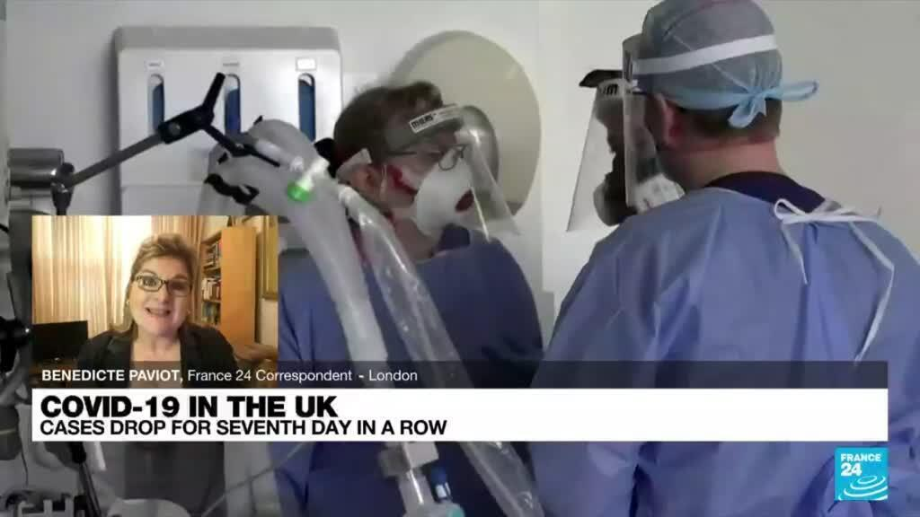 2021-07-28 12:01 UK's Johnson urges caution on drawing conclusions from falling Covid-19 cases