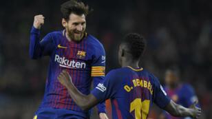Le FC Barcelone, solide leader de la Liga.
