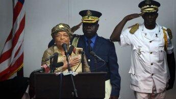 رئيسة ليبيريا إيلين جونسون سيرليف