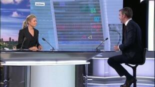 Le ministre de la Santé Olivier Véran était l'invité du journal de 20h de France 2.