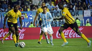 Lionel Messi a disputé contre la Jamaïque son 100e match sous le maillot de l'Albiceleste.