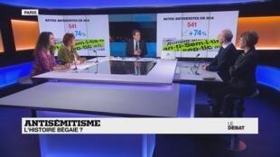 Le débat de France 24 du jeudi 23 janvier - Antisémitisme : l'Histoire bégaie ?