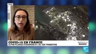 2020-04-08 09:11 Covid-19 en France : Le pays officiellement en récession, le PIB plonge d'environ 6 % au premier trimestre