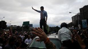 مظاهرات ضد مادورو في كراكاس 12 مارس 2019