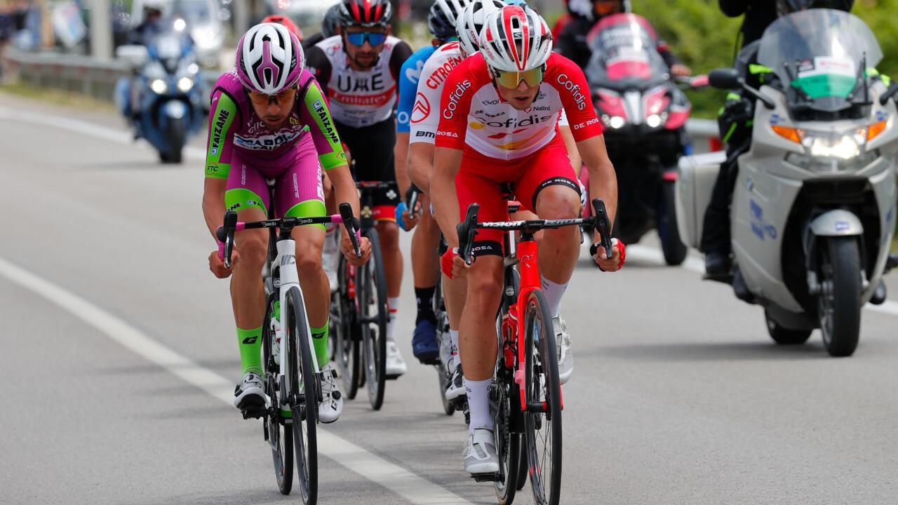 Frenchman Lafay wins Giro d'Italia stage eight