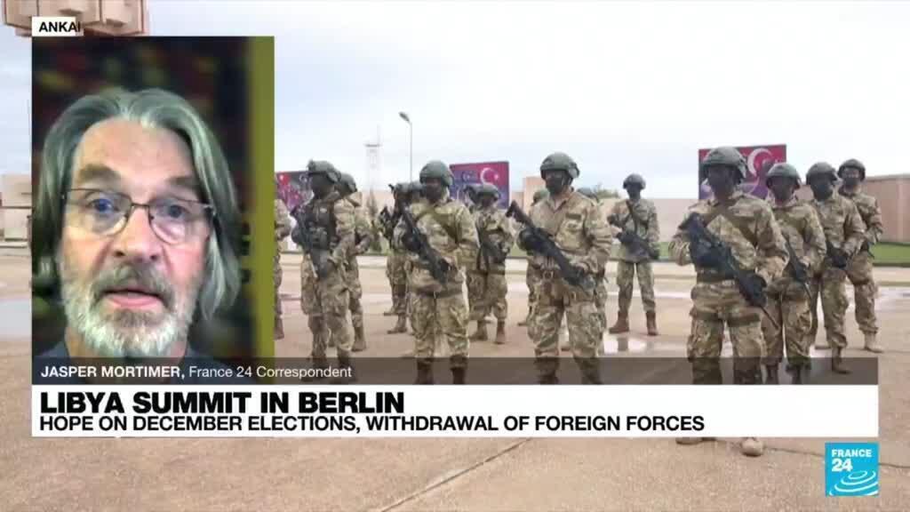 2021-06-23 22:34 Libyan FM hopes mercenaries withdraw after 'progress' at Berlin talks