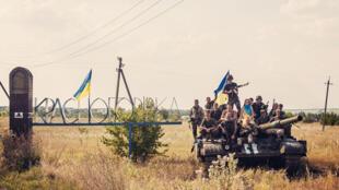 Oxana Chorna et le 20ème régiment de défense territoriale de Dniepopetrovsk