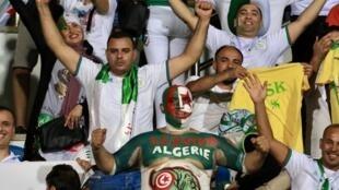 Les Algériens sont favoris : en tribunes comme sur le terrain.