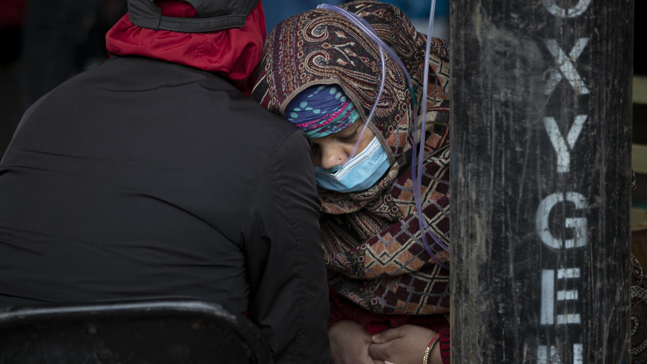 Nepal beset by shortage of hospital beds and oxygen amid Covid surge
