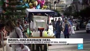 2020-09-15 10:03 'Dark day': Palestinian leaders decry historic Israeli accord with neighbours