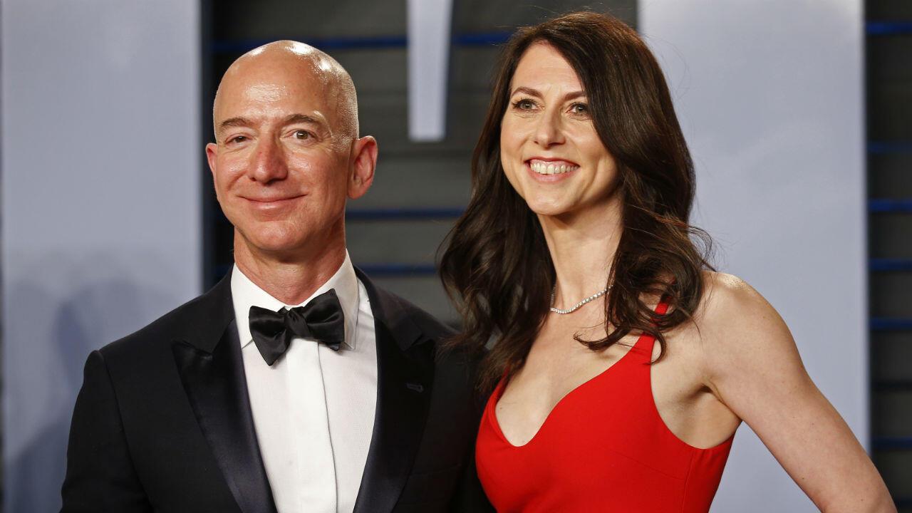 Le couple formé par Jeff et MacKenzie Bezos a annoncé sa séparation en janvier 2019.