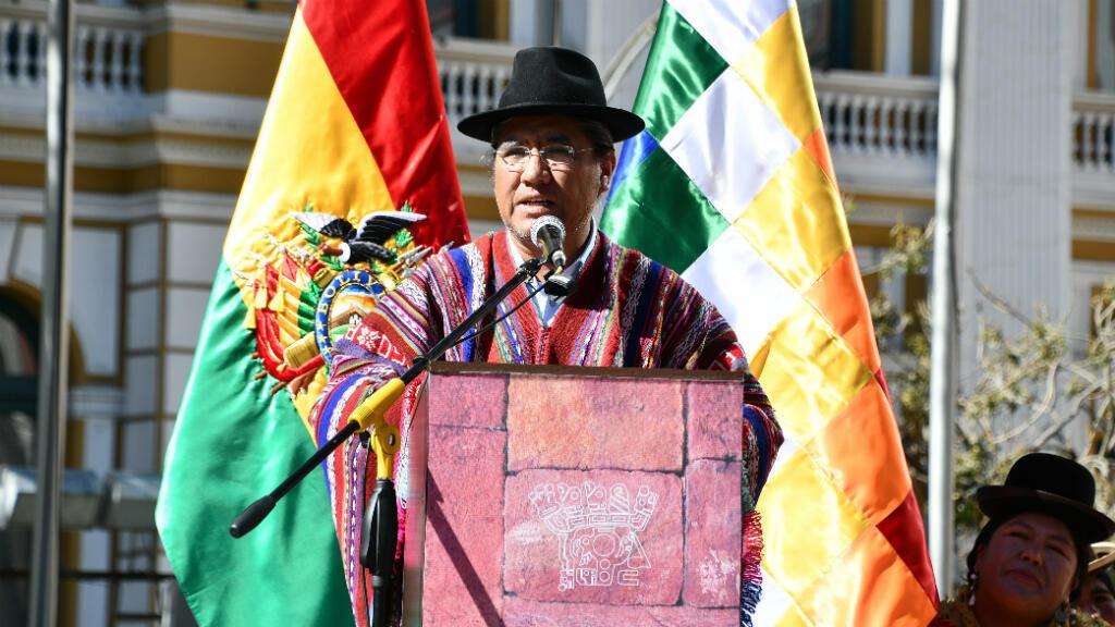 Diego Pary, canciller boliviano, ha sido la imagen indígena del Gobierno de Evo Morales en el exterior