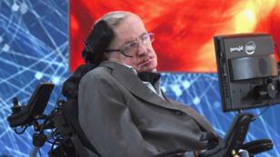 Stephen Hawking, en 2016, à New York.