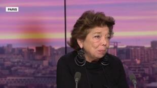 L'ancienne ambassadrice de l'autorité palestinienne auprès de l'Union européenne, Leïla Shahid, était l'invitée de France 24, le 18 novembre 2019.