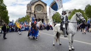 Les fêtes johanniques célébrent chaque année la victoire en avril 1429 de Jeanne d'Arc sur les Anglais qui assiégeaient Orléans.