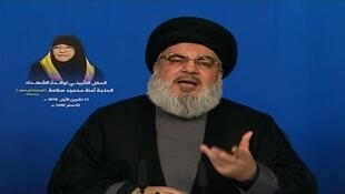 Under pressure from US sanctions: Hassan Nasrallah, the leader of Lebanon's Hezbollah movement