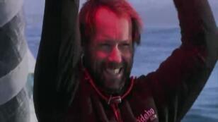 البحار الفرنسي توماس كولفيل - صورة من الفيديو