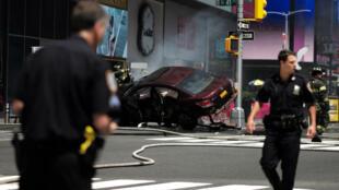 L'accident a fait au moins un mort et 22 blessés, selon les pompiers.