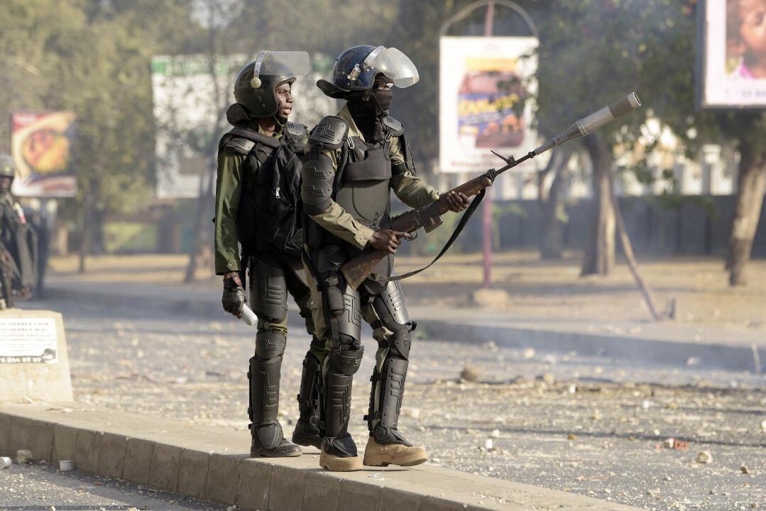 Senegal Sonko protests