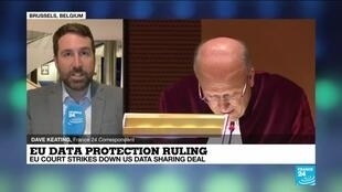 2020-07-16 14:01 EU court strikes down US data sharing deal, demands privacy protection to meet EU standards