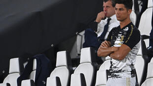 Cristiano Ronaldo looks on as Juventus fell to their second consecutive defeat.