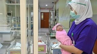 About 4.8 million babies are born annually in Indonesia, a country of more than 260 million
