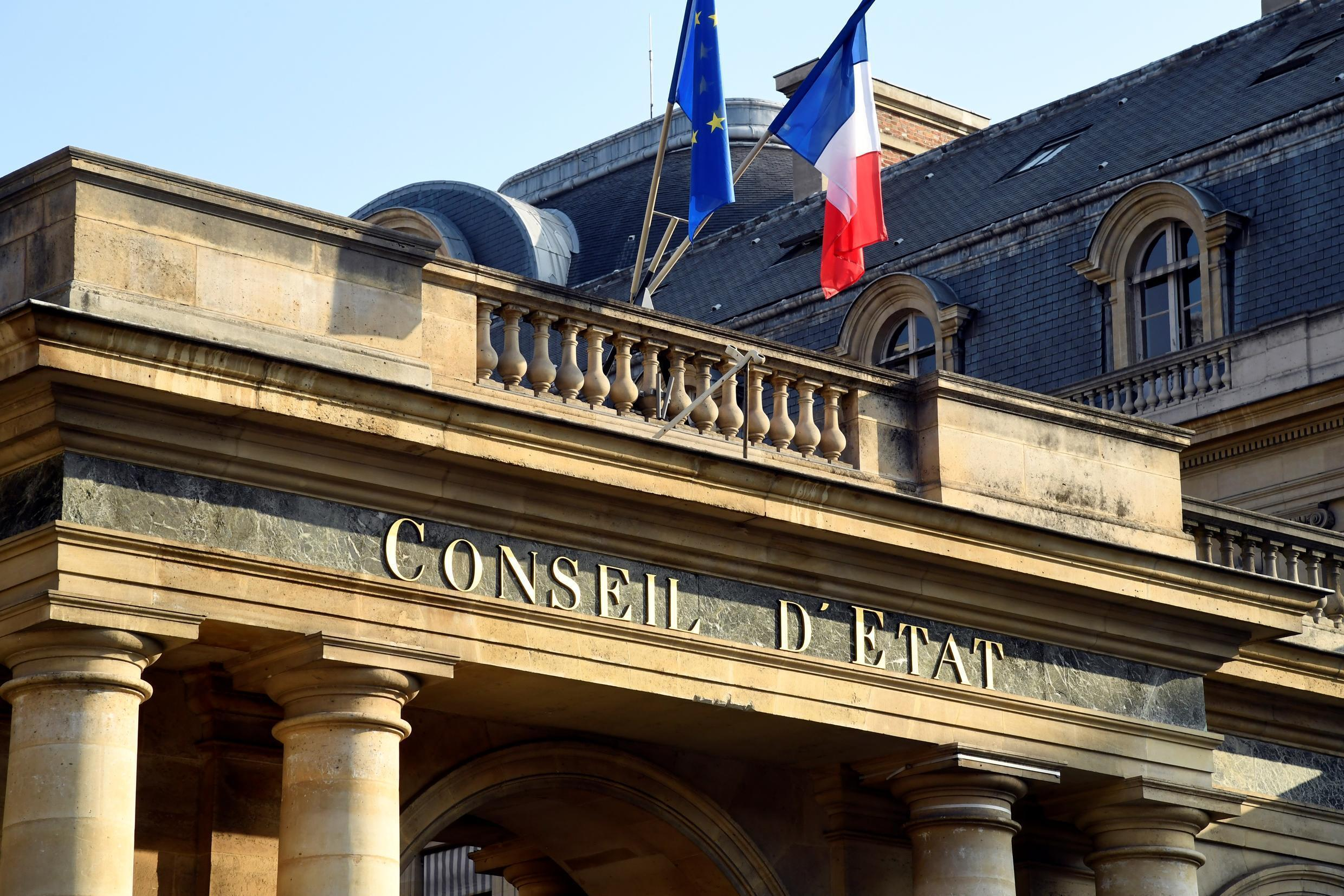 The Council of State, in Paris, is France's highest administrative court.
