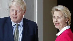 Britain's Prime Minister Boris Johnson (L) and European Commission President Ursula von der Leyen, seen here earlier this year, are to hold new post-Brexit talks