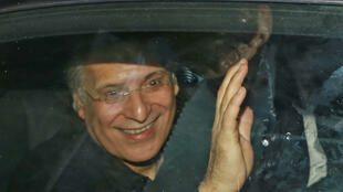 المرشح للانتخابات الرئاسية التونسية نبيل القروي يغادر سجن المرناقية. 09 أكتوبر/تشرين الأول 2019.