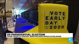 2020-10-28 15:12 Texas poised for record turnout with 8 million votes cast ahead of poll