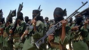Un entraînement des Shebab en Somalie, en février 2011.
