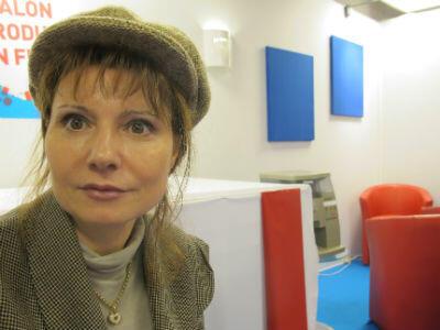 La commissaire du salon, Fabienne Delahaye