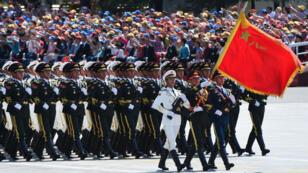 Défilé militaire à Pékin, le 3 septembre 2015, pour les 70 ans de la capitulation du Japon face à la Chine.