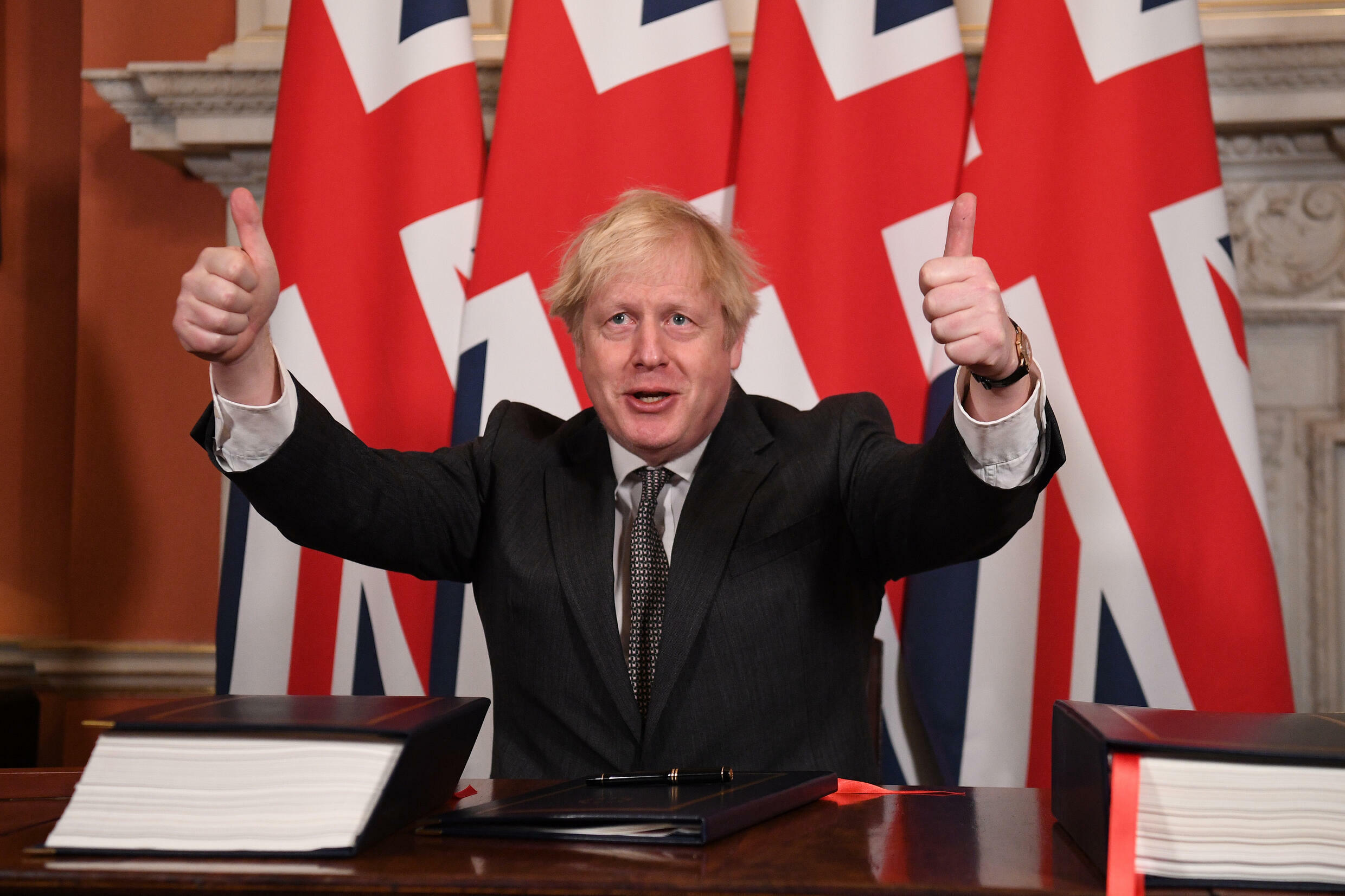 Johnson hedged his bets in the 2016 Brexit referendum before choosing to join the 'leave' side