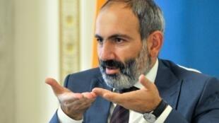 Armenian Prime Minister Nikol Pashinyan.