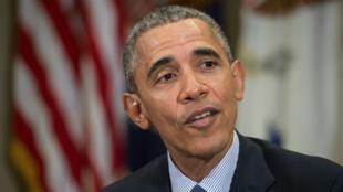 Le président américain Barack Obama, le 7mars 2016 à Washington.