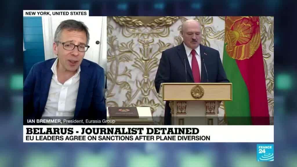 2021-05-25 20:33 No evidence Russia involved in Belarus plane diversion but sympathies clear, says Ian Bremmer