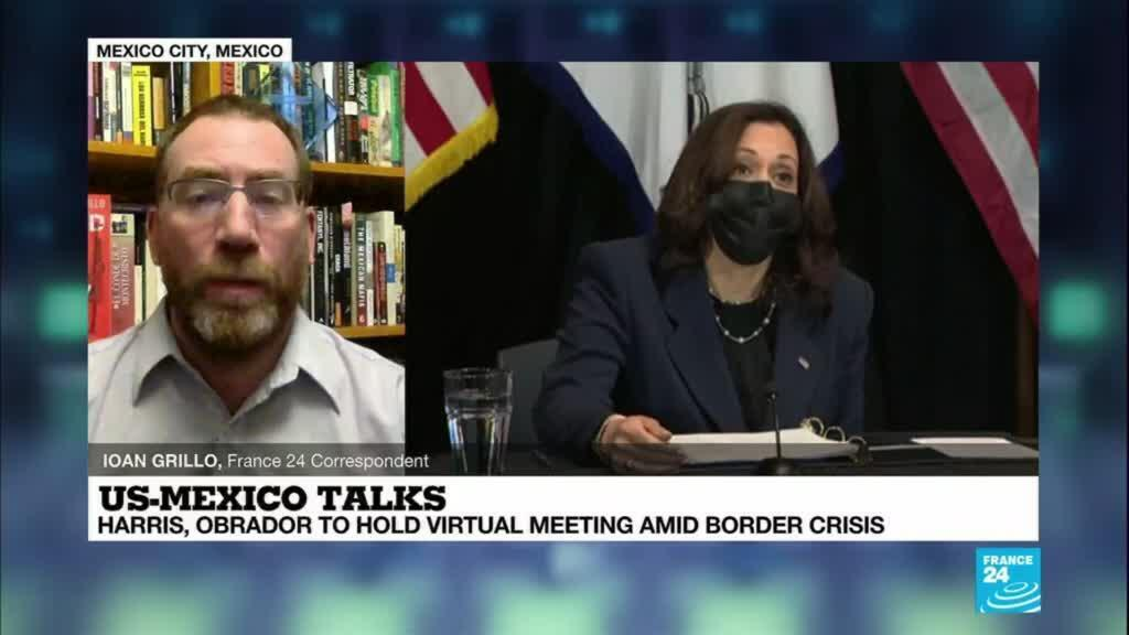 2021-05-07 08:13 Immigration in focus at high level US-Mexico talks
